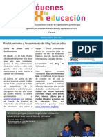 Boletín Jóvenes por la Educación - JxE #5