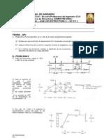 Examen parcial de analisis estructural I