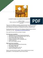 Debate Format Guide