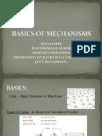 Basics of Mechanisms