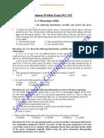 Bank Exam Question Paper Pdf