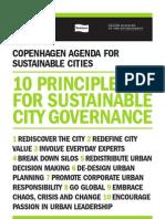 DK_Copenhagen _10 Principles for Sustainability _agenda2007