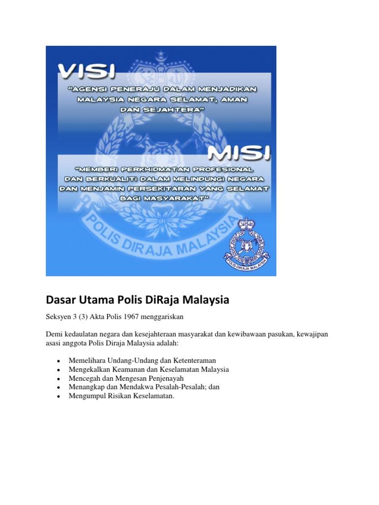 Dasar Utama Polis Diraja Malaysia
