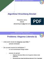 Algoritmul Hirschberg-Sinclair