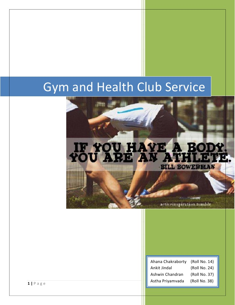 Gym service concept and blueprint recreation determinants of health malvernweather Images