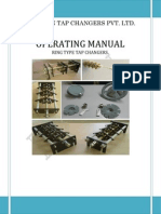Operating Manual for Ring Type Tap Changers