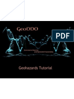 Geohazard Tutorial GeoDDO