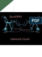 Geohazard Tutorial GeoDDO