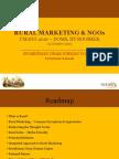 Rural Marketing & NGOs