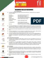 Reglamento FIL 2012