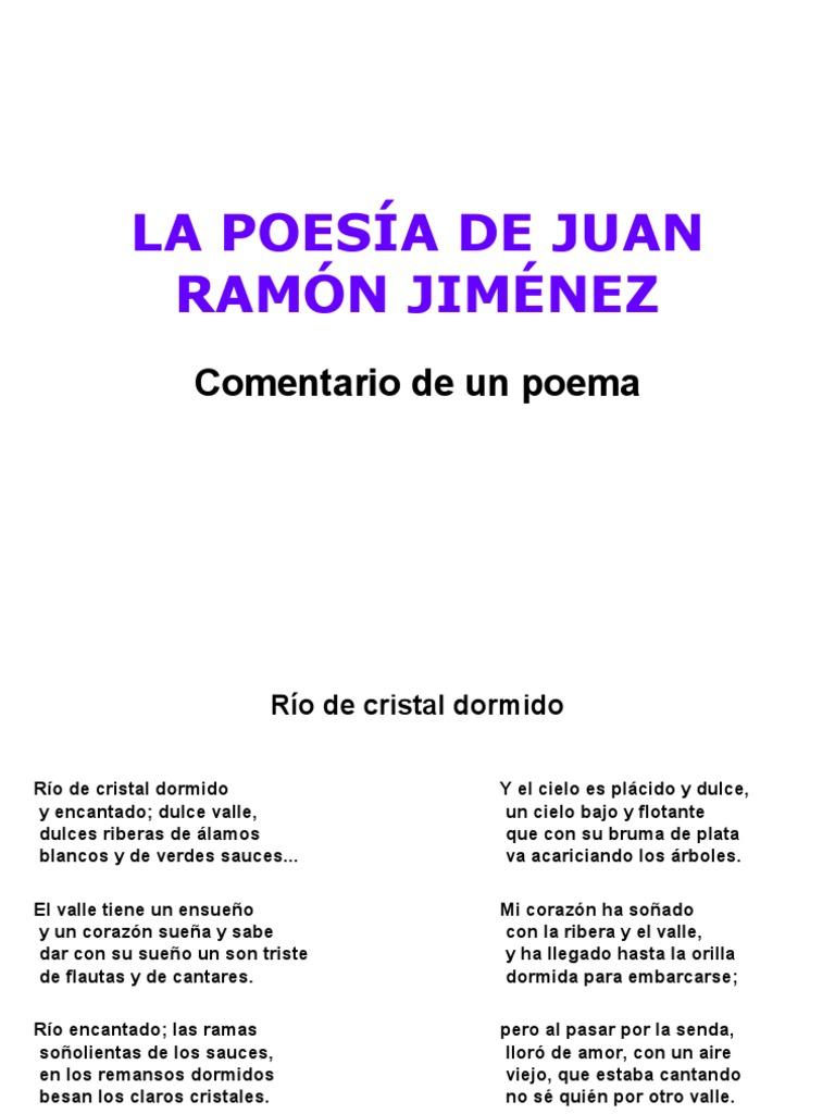 Un Poema De Juan Ramón Jiménez Metro Poesía Poesía