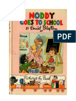 Blyton Enid Noddy 6 Noddy Goes to School 1952