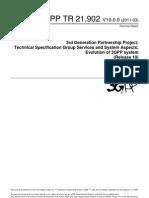 Evolution of 3GPP System