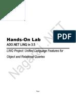 Linq Hands on Lab-blog