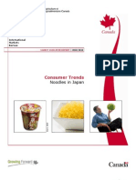 Japan Noodles Consumer Trends En