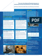 The role of the National Physical Laboratory in monitoring and improving dosimetry in UK radiotherapy