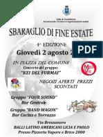 Estate 2012 - Castelleone Sbaraglio 2 Agosto