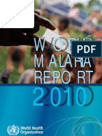 World Malaria Report 2010