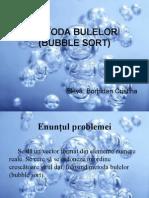 cORECTATA METODA BULELOR