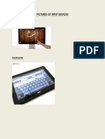 Pictures of Input Devices