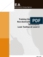 Non Destructive Testing Methods