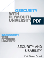 Lecture 10 - Security and Usability