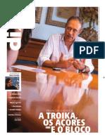 Francisco Louçã em entrevista ao Diario Insular