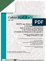 HQE2R_cahier de Lancement