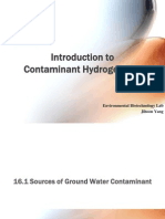 Fundamentals of Contaminant Hydrogeology