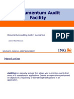 Documentum Auditing