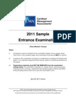 2011 EE Sample Exam
