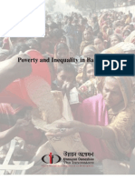 Poverty and Inequality in Bangladesh