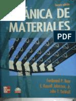 Mecánica de Materiales - Beer 3ra Edición
