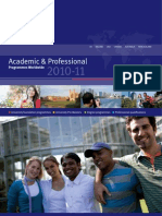 Kaplan Academic and Professional Brochure 2010-11