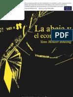 Moulier-Boutang, Y. - La abeja y el economista [2010] [ed. Traficantes, 2012]
