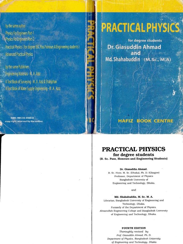 Pratical Physics by Dr Giasuddin Ahmed and Md Shahabuddin Www ...