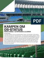 """""""Kampen om OS-status"""", för Outside Magazine"""