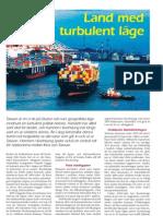 """""""Hamn med politiskt turbulent läge"""", för Sjöbefäl"""