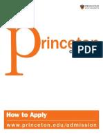 Princeton Application