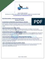 Recent News Headlines – International Emissions Market 15th July 2012