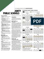 2012-13 JCPS School Calendar