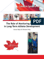 The Role of Monitoring Growth in LTAD