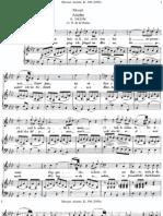 Dans Un Bois Solitaire-Mozart