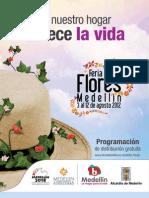 Programacion Oficial Feria de Las Flores 2012