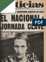 Diario Noticias - Argentina - Año 1, No. 5, 25 de noviembre de 1973