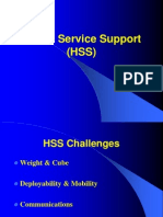 Army Health Service Support