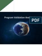 Program Validation and Testing