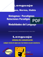 Lengua Habla Norma