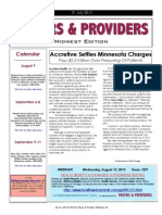Payers & Providers Midwest Edition – Issue of July 31, 2012