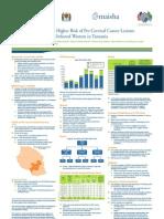 Giulia Besana, Jhpiego-Tanzania, IAS2012 Poster, Correlation Between CD4 Count and Cervical Cancer Risk